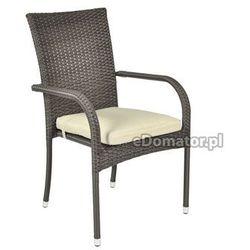 Krzesło ogrodowe z technorattanu MALAGA 6+1