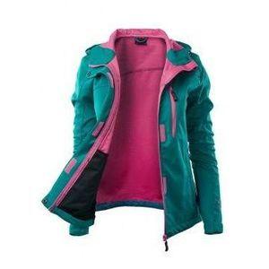 d8f8bdf2b25c5 HI-TEC Kurtka damska softshell LADY MARISA - rozmiar S - kolor turkusowy