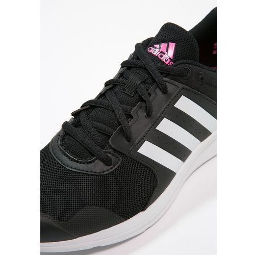 adidas Performance ESSENTIAL FUN 2 Obuwie treningowe core blackwhiteshock pink Zalando
