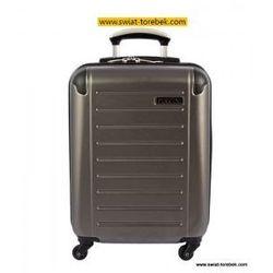 78ffd009e816e PUCCINI walizka mała/ kabinowa z kolekcji PC016 twarda 4 koła materiał  Policarbonite zamek szyfrowy z systemem TSA
