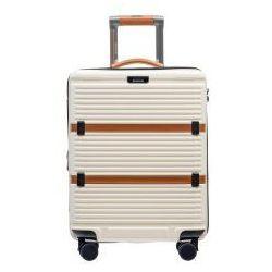 0d99c74e56d4 PUCCINI walizka mała  kabinowa twarda z kolekcji OXFORD PC023 materiał  policarbon zamek szyfrowy TSA