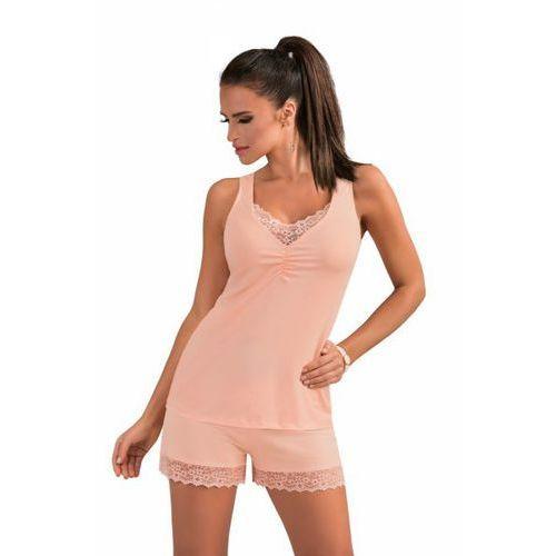 f3102ab2e39906 lucy 1/2 brzoskwiniowa piżama damska marki Donna