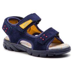 72114cebc65bd5 Sandały - 4-09182-80 m blue/yellow marki Superfit