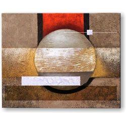 ręcznie malowany, grubo fakturowany obraz nowoczesny 80x100cm rabat 35%