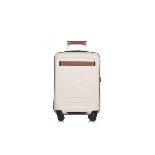 c48490e1bde4c PUCCINI walizka mała/ kabinowa PC020 kolekcja STOCKHOLM 4 koła twarda zamek  szyfrowy TSA materiał policarbon