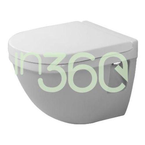 Duravit starck 3 miska lejowa wc wisząca 36x48,5 compact biała 2202090000