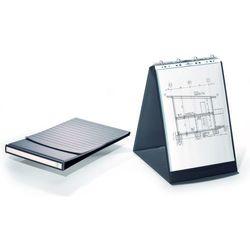 Flipchart stołowy Durastar z 10 koszulkami A3 pionowy bazaltowy 8568-39