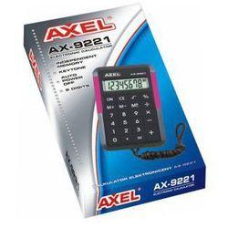 KALKULATOR AX-9221 AXEL. Darmowy odbiór w niemal 100 księgarniach!