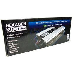Przetwornica HEX SINUS 600 12 V
