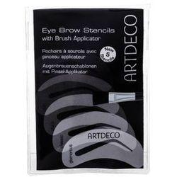 Artdeco Eye Brow Stencils With Brush Applicator regulacja brwi 5 szt dla kobiet