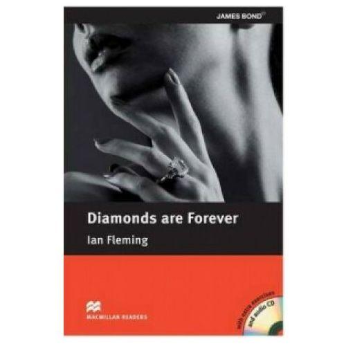 Książki do nauki języka, Diamonds Are Forever Plus Audio CD (Diamenty Są Wieczne) Macmillan Readers Pre-Intermediate (opr. miękka)