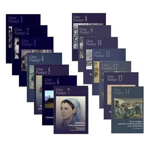 Pozostałe książki, PAKIET Głosy Pamięci 1-14