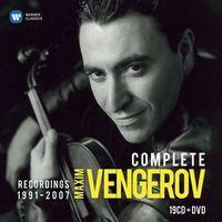 Pozostała muzyka rozrywkowa, THE COMPLETE WARNER RECORDINGS (19CD+DVD) - Maxim Vengerov (Płyta CD)