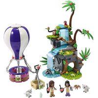 Klocki dla dzieci, 41423 BALONEM NA RATUNEK TYGRYSOWI (Tiger Hot Air Balloon Jungle Rescue) KLOCKI LEGO FRIENDS