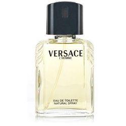 Versace L´Homme 100ml M Woda toaletowa Tester