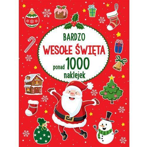Książki dla dzieci, Bardzo wesołe święta - Praca zbiorowa (opr. miękka)