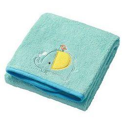 BabyOno Ręcznik kąpielowy frotte 140x70: Kolor - Zielony
