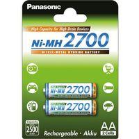 Akumulatorki, Panasonic BK-3HGAE/2BE AA 2700mAh (2szt)