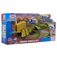 Pojazdy bajkowe dla dzieci, Fisher Price Tomek i Przyjaciele Turboskok ucieczka z dżungli
