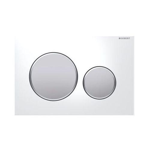 Geberit przycisk uruchamiający sigma 20 biały/chrom mat/chrom mat 115.882.kl.1