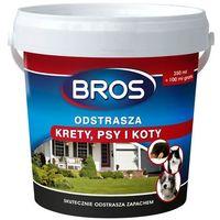 Środki na szkodniki, Bros Odstrasza Krety,Psy i Koty 350ml/Granulat 450ml/