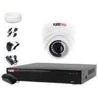Zestawy monitoringowe, Monitoring do domu: Rejestrator LV-XVR44SE + Kamera 1x LV-AL1M2FDPWH + akcesoria