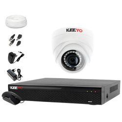 Monitoring do domu: Rejestrator LV-XVR44SE + Kamera 1x LV-AL1M2FDPWH + akcesoria