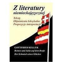Książki do nauki języka, Z literatury niemieckojęz. Gottfried Keller... (opr. broszurowa)