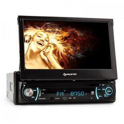 Auna MVD-330 Monitor multimedialny Bluetooth USB SD MP3 AUX ekran dotykowy 18 cm (7'')