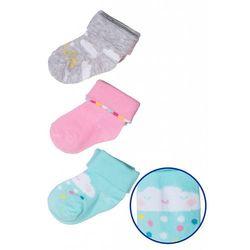 Skarpety niemowlęce 3pak 5V3337 Oferta ważna tylko do 2019-05-17