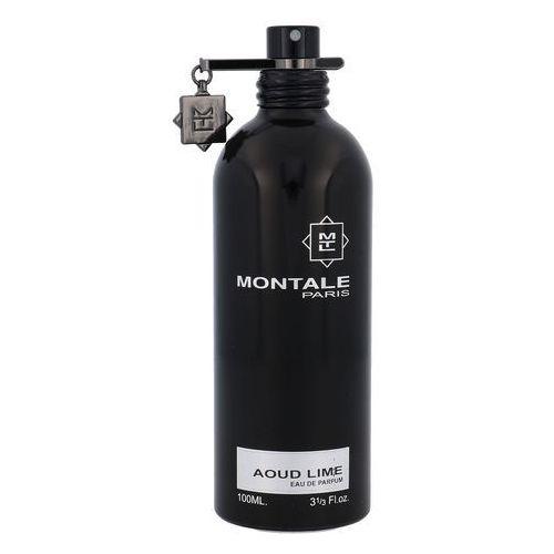 Testery zapachów unisex, Montale Paris Aoud Lime woda perfumowana 100 ml tester unisex