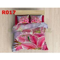 Pościel 3 D bawełna100% 160 x200 +2 poduszki 70x80 R017