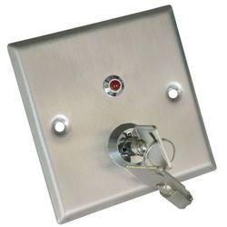 Metalowy przełącznik kluczykowy Scot KS-1N