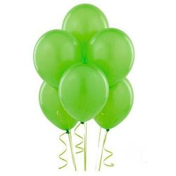 Balony lateksowe pastelowe jasnozielone - 11 cali - 100 szt.