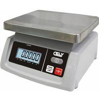Wagi sklepowe, Waga sklepowa   dokładność 2/5g   do 15kg   235x240x(H)130mm