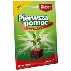 Superplon K stymulator wzrostu 20 ml środek przyspieszający wzrost roślin