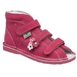 Kapcie profilaktyczne buty DANIELKI T125 T135 Fuksja - Fuksja ||Różowy