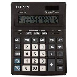 Kalkulator biurowy CITIZEN CDB1201-BK Business Line, 12-cyfrowy, 205x155mm, czarny