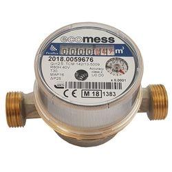 Wodomierz do zimnej wody Ecomess Picoflux 1/2 2,5 m3/h