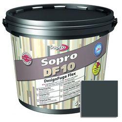 Fuga cementowa DF10 szaro-czarny 5 kg SOPRO