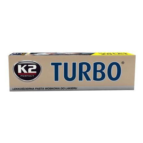 Pasty polerskie do karoserii, Lekkościerna pasta z woskiem z nanotechnologią TURBO TEMPO K2 120gr K2K001