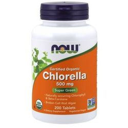 Chlorella organiczna certyfikowana 500mg 200 tabl.