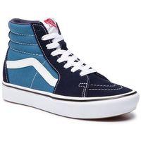 Pozostały skating, Sneakersy VANS - Comfycush Sk8-Hi VN0A3WMBVNT1 (Classic) Navy/Stv Navy
