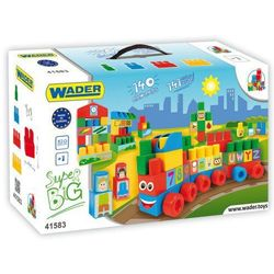 Klocki midle blocks - Zestaw Super Big - WADER 41570- #A1