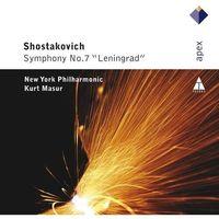 Pozostała muzyka rozrywkowa, SHOS:SYMPHONY NO.7 LENINGRAD - Masur/nyp (Płyta CD)