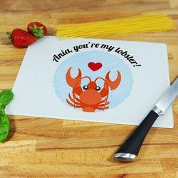 You're my lobster! - deska do krojenia - Deska średnia 25 na 20 cm