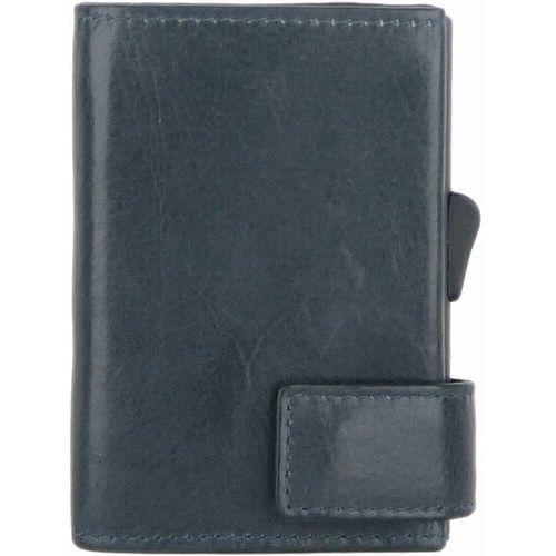Etui i pokrowce, SecWal SecWal 1 Kreditkartenetui Geldbörse RFID Leder 9 cm blau ZAPISZ SIĘ DO NASZEGO NEWSLETTERA, A OTRZYMASZ VOUCHER Z 15% ZNIŻKĄ