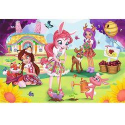 Trefl 160 elementów - Enchantimals, Bree, Danessa i Felicyty w ogrodzie