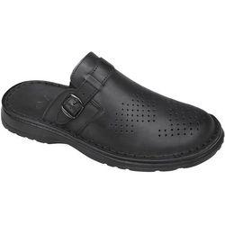 Klapki buty ŁUKBUT 951 Czarne - Czarny