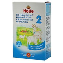 HOLLE 2 400g Mleko kozie następne dla dzieci od 6 miesiąca w proszku BIO